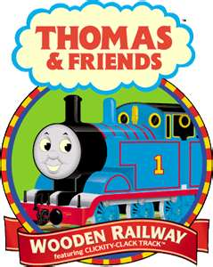 Thomas & Friends Wooden Railway Logo